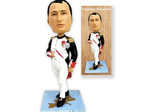 "Napoleon Bonaparte 7"" Bobble Head in Collector's Box"