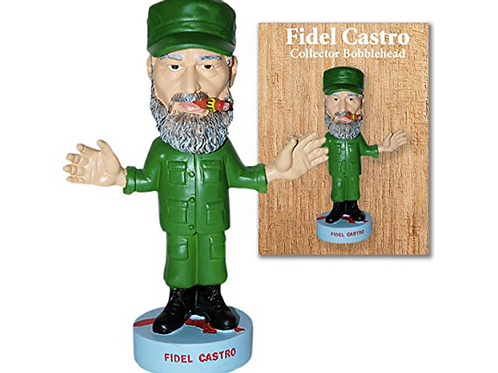 Fidel Castro Collector Bobblehead