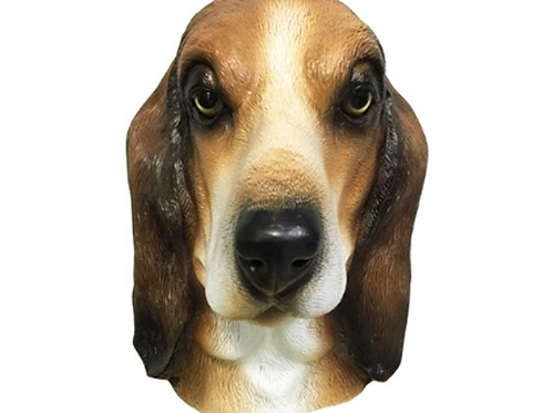Basset Hound Dog Costume Face Mask - Kennel Club