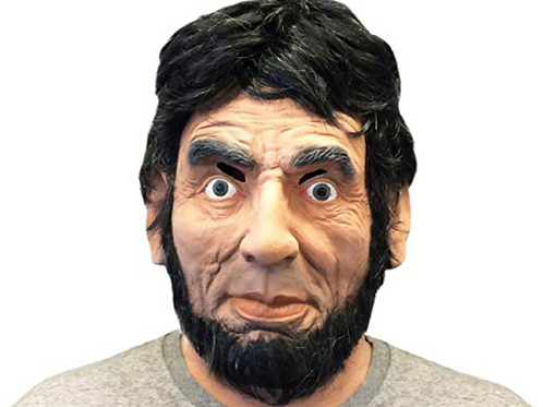 Abraham Lincoln Face Mask