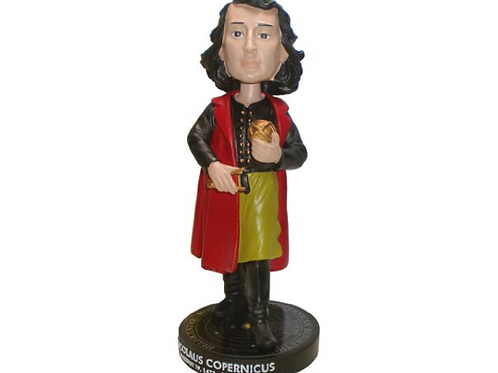 Nikolaus Copernicus Astronomer and Mathematician Collector Bobblehead