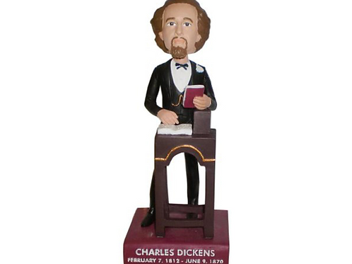 Charles Dickens Collector Bobblehead