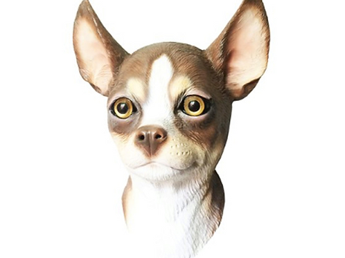 Chihuahua Dog Costume Face Mask - Kennel Club