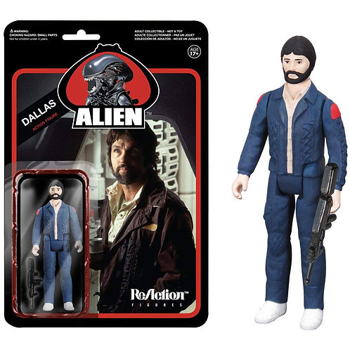 Funko ReAction: Alien Dallas Action Figure