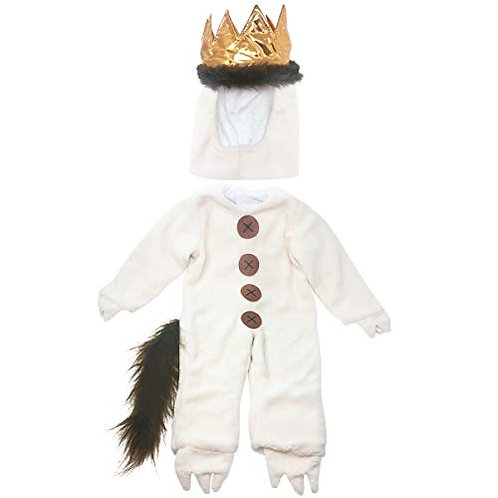 Wild Things Toddler Baby Max Halloween Costume White