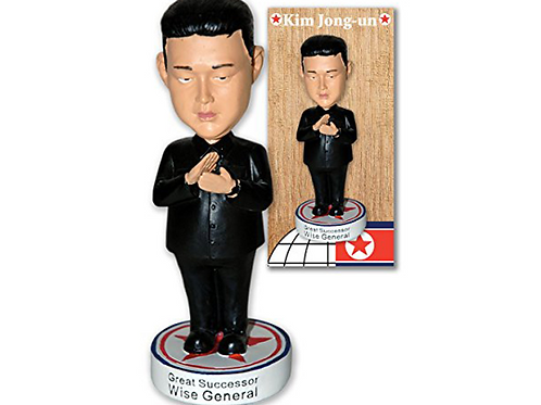 "Kim Jong Un North Korea 7"" Bobblehead in Collector's Box"