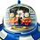 Thumbnail: Retro Tin Toy Wind Up Space Ship X-11 Satellite Orbiter Collectible