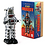 Thumbnail: Vintage Style Collectible Wind Up Chrome Planet Robot Wind Up 8.5""