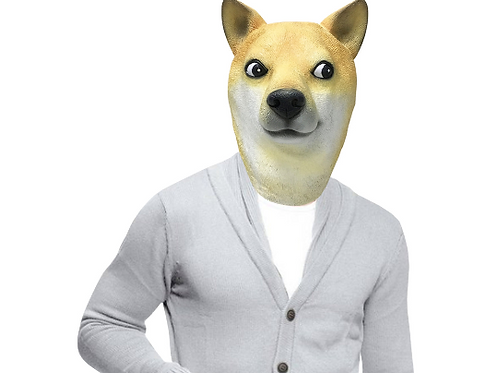 Doge Shiba Inus Dog Mask - Off the Wall Toys