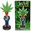 Thumbnail: Stoner Bud Pot Head Marijuana Leaf Collector Bobblehead