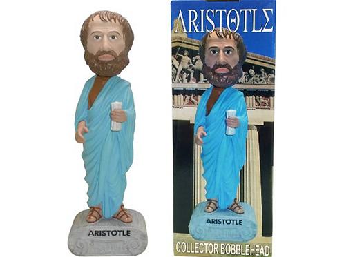 Aristotle Philosopher Collector Bobblehead