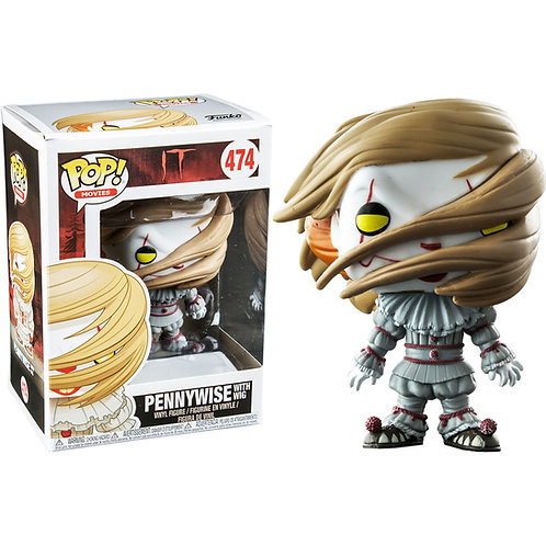 Funko Pop! Walmart Exclusive Pennywise with Wig