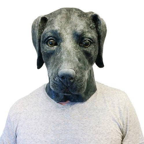 Black Labrador Retriever Dog Costume Face Mask