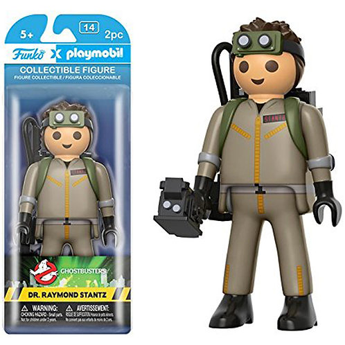 Funko Playmobil: Ghostbusters - Dr. Raymond Stantz Action Figure