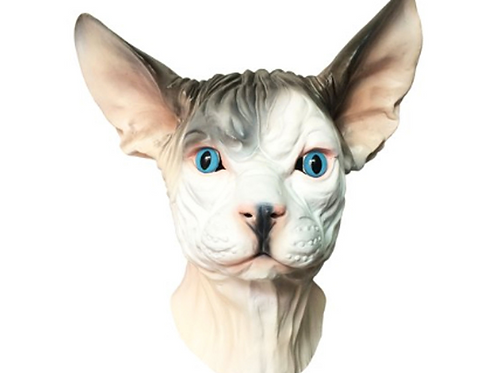 Sphynx Hairless Cat Mask