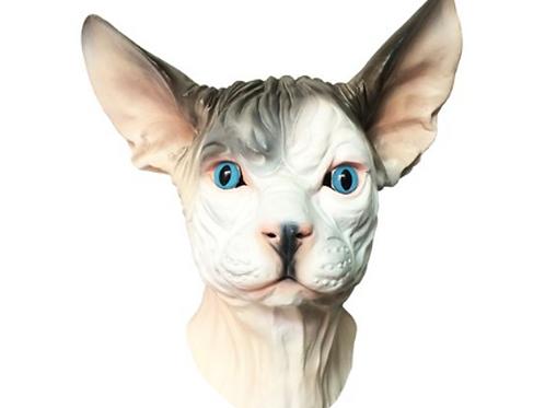 Sphynx Hairless Cat Mask