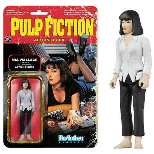 Funko ReAction: Pulp Fiction Series 1 - Mia Wallace Action Figure