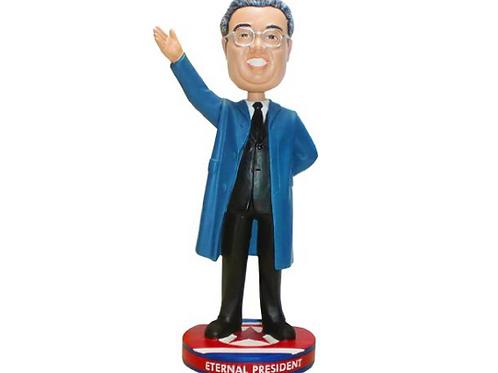 North Korea Kim Il Sung Dictator Collector Bobblehead