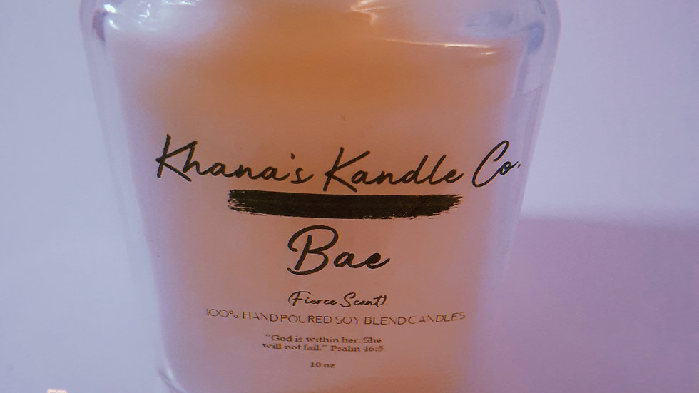 The Bae Candle (Fierce Scent)