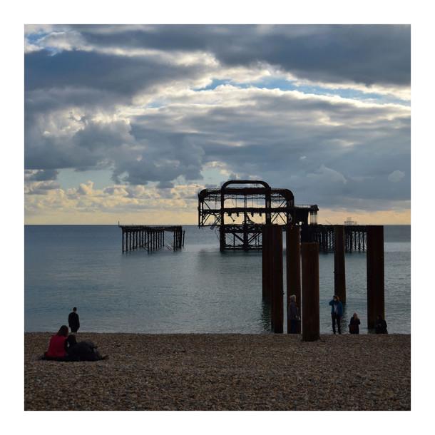 Brighton West pier - 2016