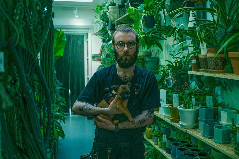 ALEX SPRINGER - OWNER OF PEARSPRING - EAST DULWICH 2019