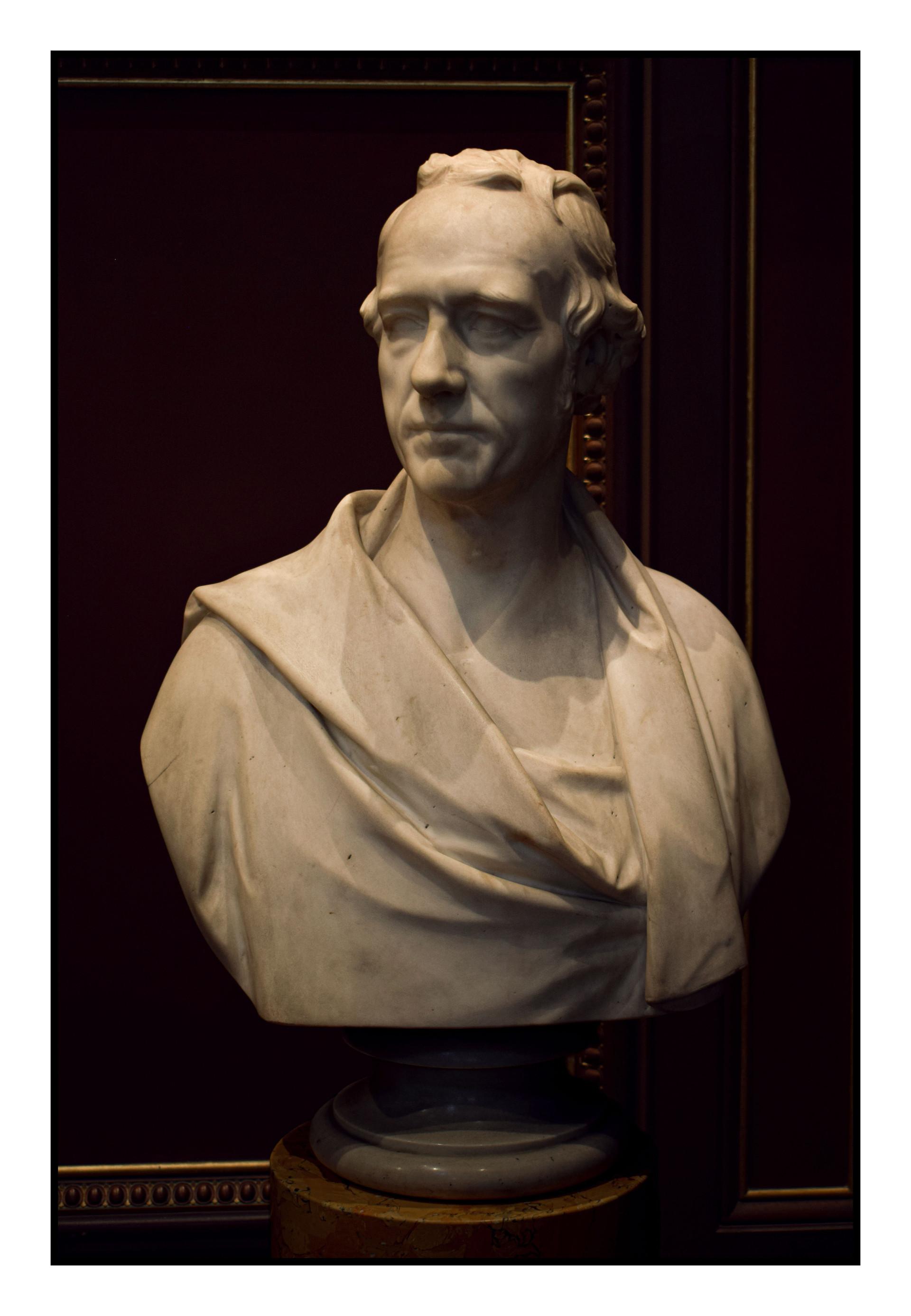 Bust of William Martin Leake by William Behnes - Fitzwilliam Museum, Cambridge, 2018
