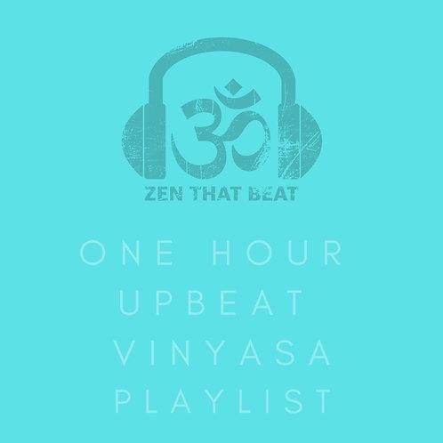One Hour Upbeat Vinyasa With Savasana (March 2021)