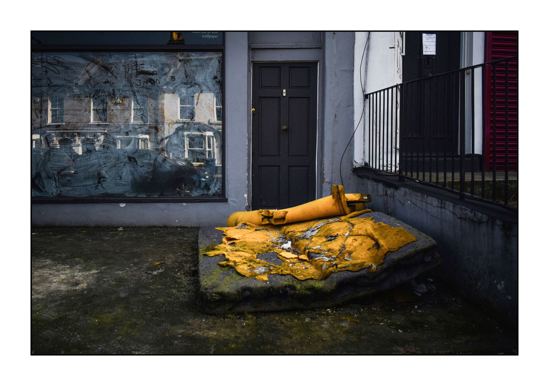 Discarded mattress - East Dulwich, 2019
