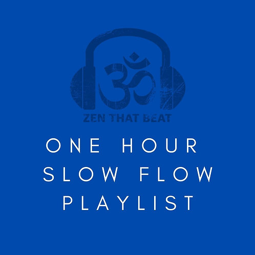 One Hour Slow Flow Playlist (Decmeber 2020)