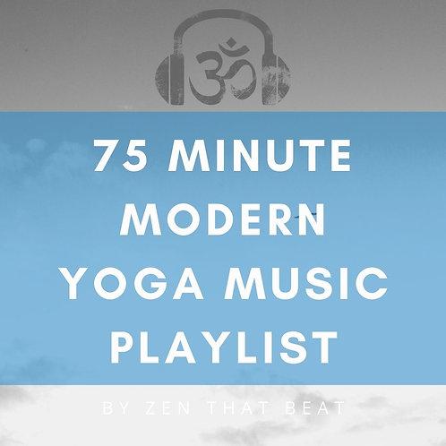 75 Minute Complete Yoga Music Playlist With Savasana
