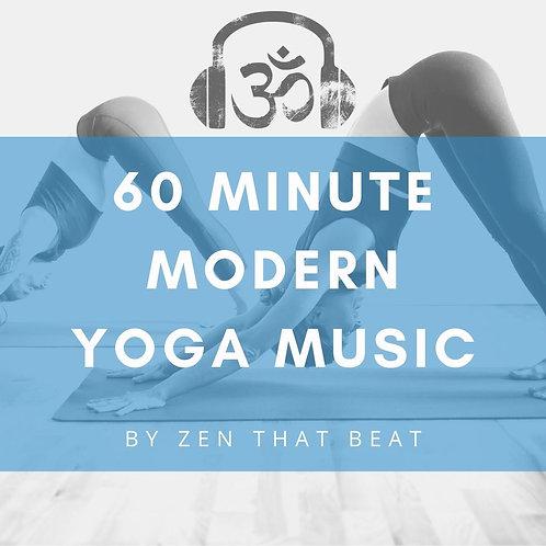 60 Minute Modern Yoga Music (Complete w. Savasana)