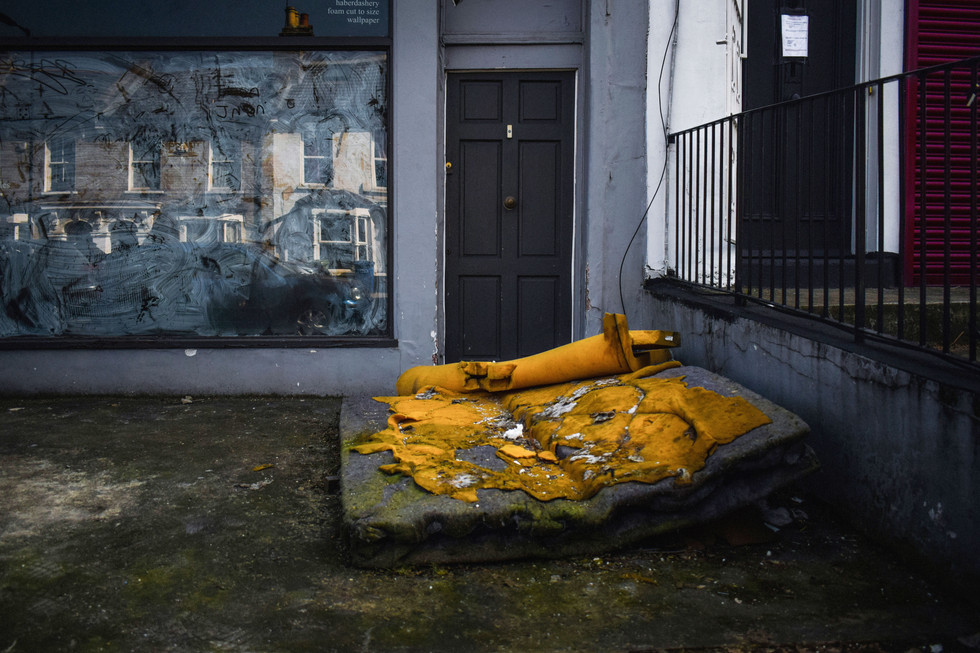 DISCARDED - EAST DULWICH 2019