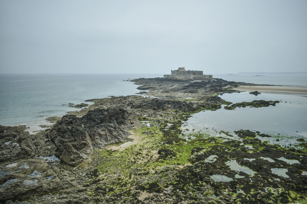 FROM THE RAMPARTS OF SAINT-MALO - FRANCE 2018