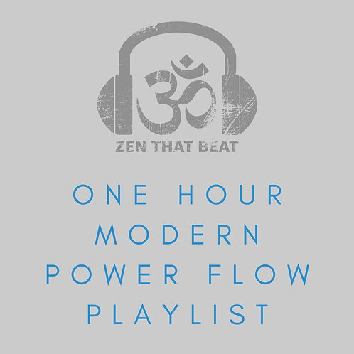 One Hour Modern Power Flow Yoga Music (November 2020)
