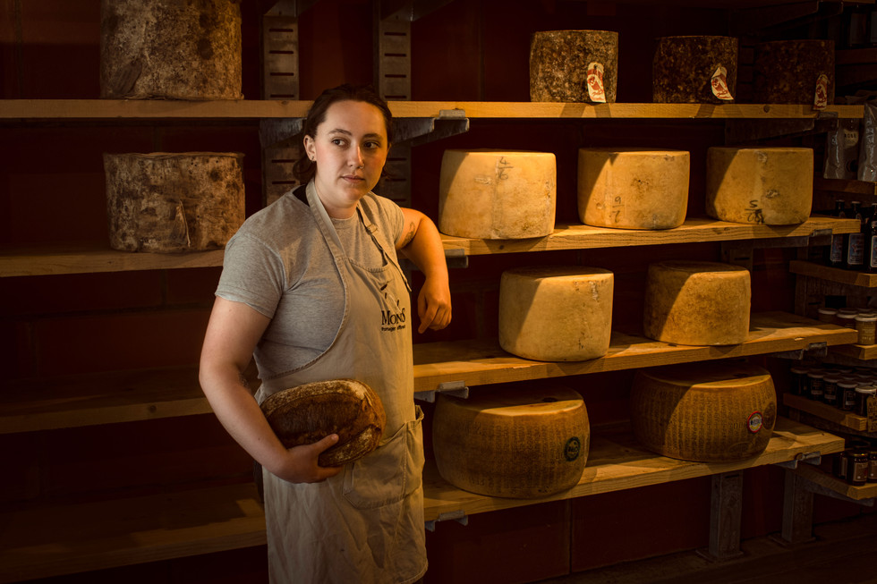 MOLLY POWELL - SUPERVISOR AT MONS CHEESEMONGERS - EAST DULWICH 2019