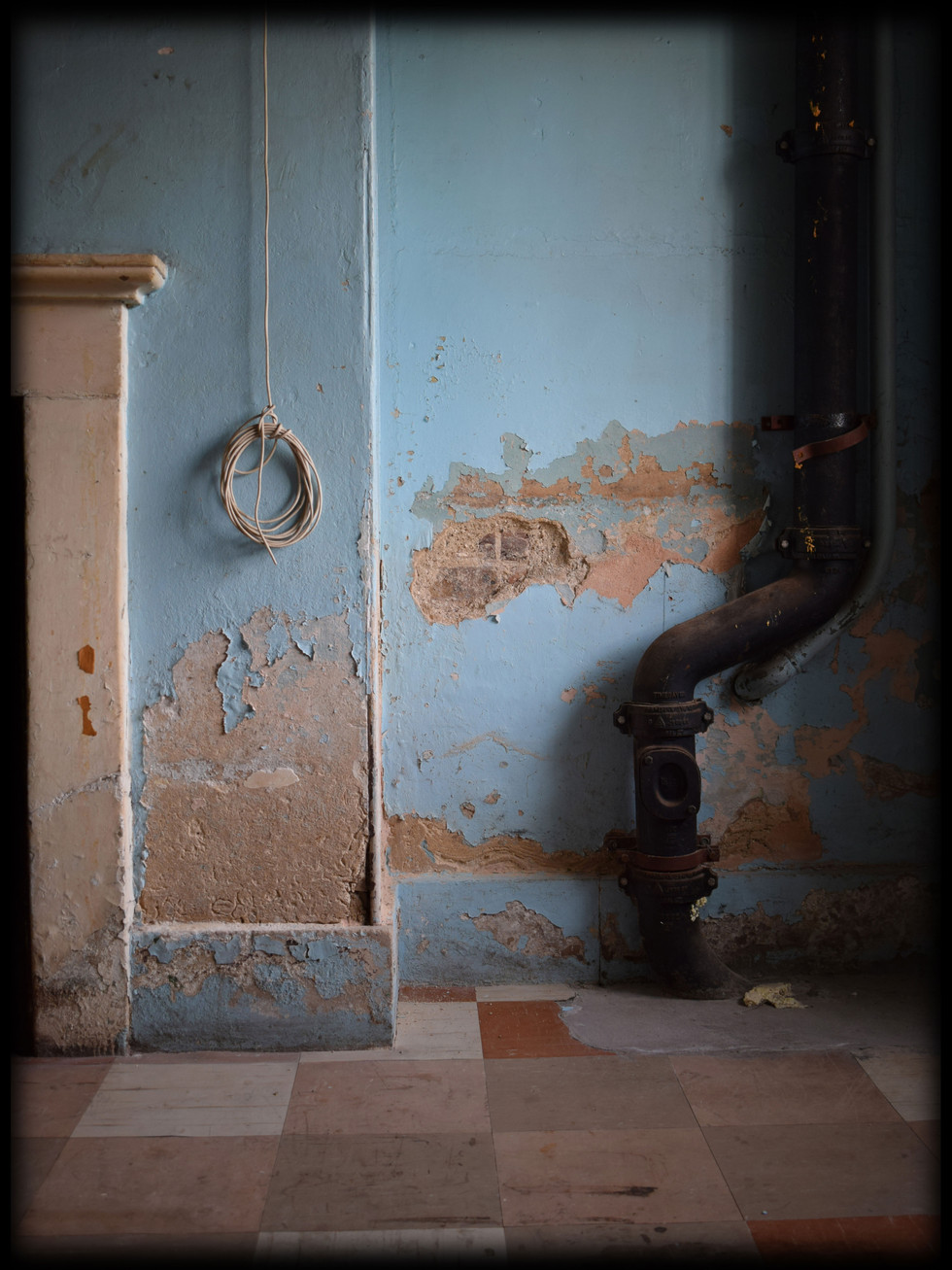 DISUSED KITCHEN - BECKENHAM PLACE MANSION 2017