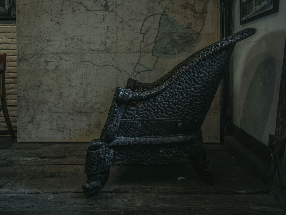ANTIQUE THAI CHAIR - MARGATE 2018