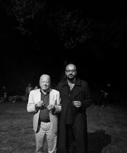 Achille Bonito Oliva and Losvizzero