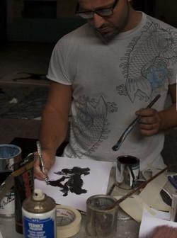 Losvizzero in studio