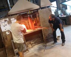 Losvizzero in fornace a Venezia 2015