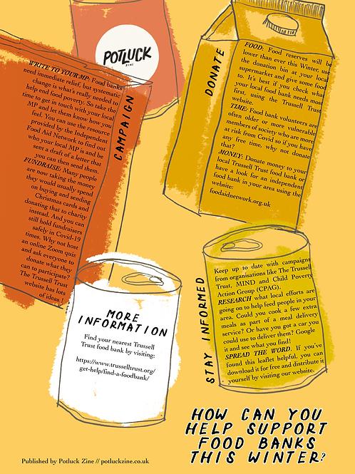 Food Banks in Winter Leaflet