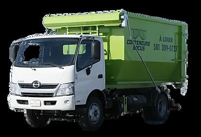 Service de location de conteneurs à Québec - Livraison et ramassage - recyclage de matériaux