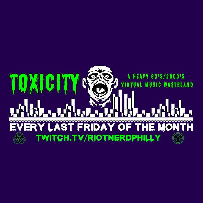 Toxicity - Heavy 90s/00s (NuMetal, Goth, Heavy Jams) Livestream