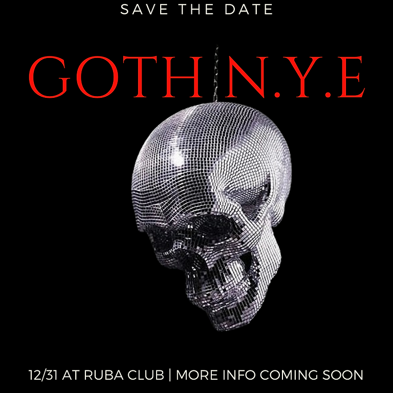 Goth New Years Eve Party
