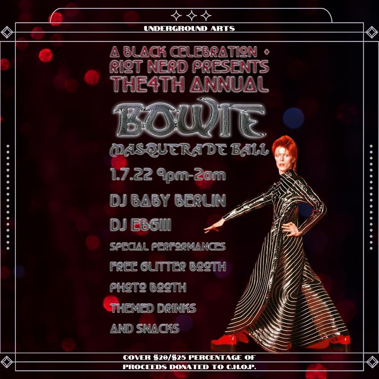 Bowie Masquerade Ball