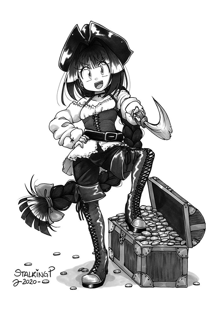 モノクロ・フルボディ(+その他アクセサリー)