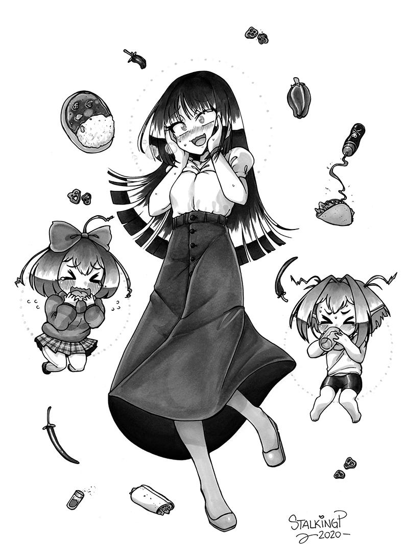 モノクロ・フルボディ(+その他アクセサリー・キャラ)