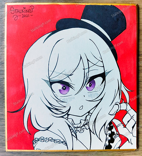 Mini Shikishi - Nishikino Maki from Love Live! (Color Pop)
