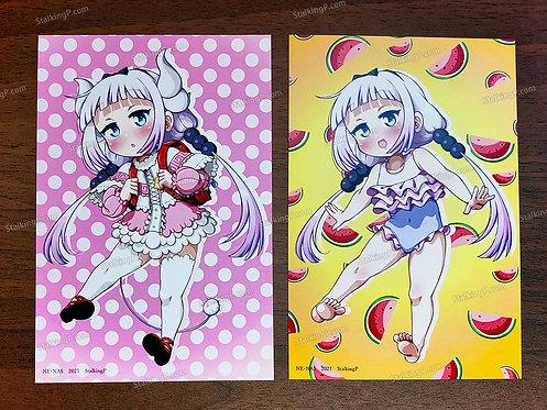 [Limited] Kanna double-sided postcard (Term 049 - MAR21)