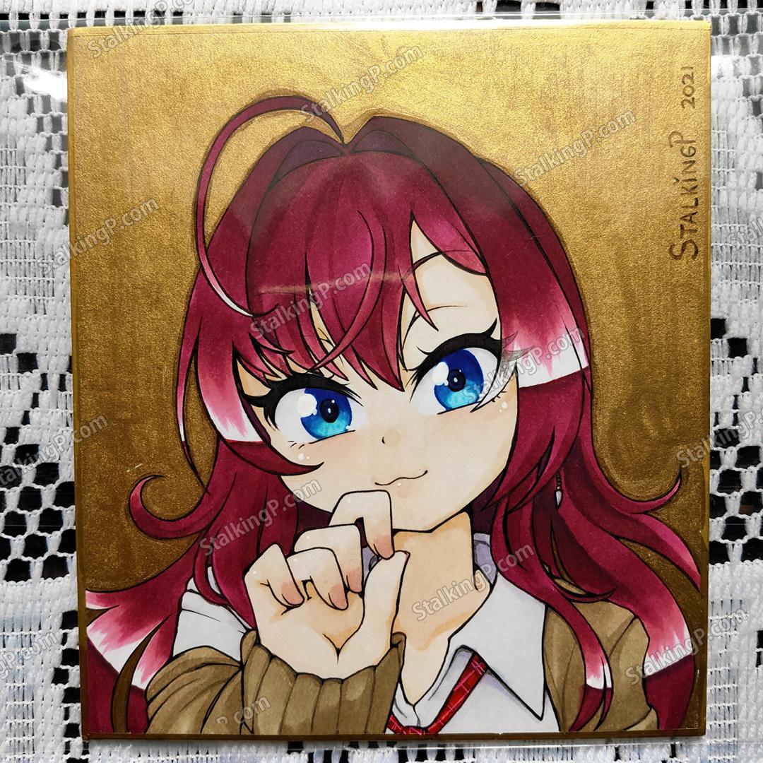 ミニ色紙・カラー